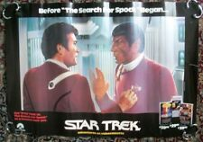 Original Vintage Paramount Star Trek Video Store Poster 1984 Rolled