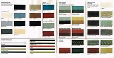 1986 Oldsmobile COLOR CHIP CHART Paint Brochure: CUTLASS,CIERA,FIRENZA,CRUISER,