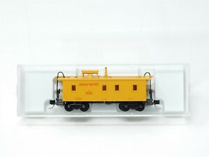 N Micro-Trains MTL 50100 UP Union Pacific 34' Wood Sheathed Caboose #3245