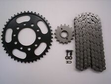 HONDA VFR750F INTERCEPTOR SPROCKET & O-RING CHAIN SET 16/45 1986  BLK