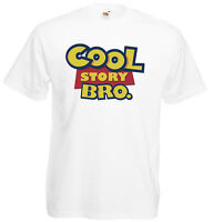 Cool Story Bro Funny Toy Story Inspired Mens Printed T-Shirt Soft Crew Neck Tee