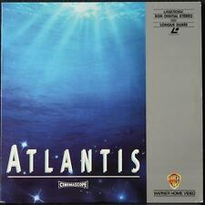 LaserDisc ATLANTIS L'Opéra sous-marin de Luc Besson, Eric Serra PAL CinemaScope