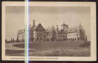 Postcard MONTAUK BEACH LONG ISLAND New York/NY  Montauk Manor House view 1920's?