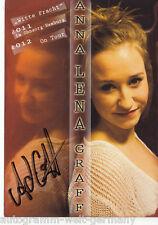 Anna Lena Graf TOP AK Original Signiert +7835