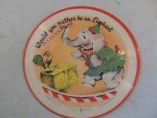 Vintage 1948 WOULD YOU RATHER BE AN ELEPHANT 3 BLIND MICE Voco Picture Record