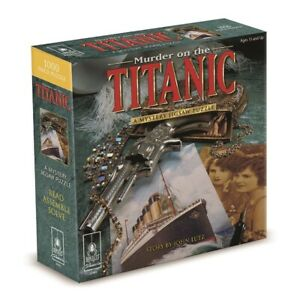 Bepuzzled Puzzle Murder on the Titanic a Mystery Jigsaw Puzzle 1000 Pieces