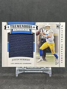 2020 National Treasures Tremendous Treasures Rookies Justin Herbert 35/99