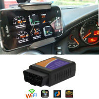 ELM327 OBD2 Scanner Wireless Adapter For Android iOS Car Diagnostic Interface