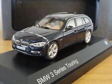 PARAGON BMW 3 SERIES 3ER TOURING ESTATE F31 DARK BLUE CAR MODEL 80422244254 1:43