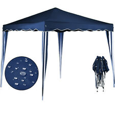 Tente Pliante Tonnelle Pavillon Pliable 3X3M Bleu Ombre Jardin