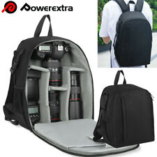 Powerextra Waterproof Camera Backpack Bag for Canon Nikon Sony Olympus DSLR New