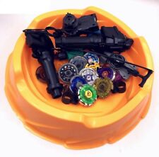 8 pcs Beyblade 4D metal fusion with Stadium arena and launchers set