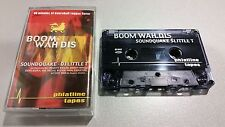 SOUND QUAKE & DJ LITTLE T - Boom Wah Dis  (TAPE)  PHATLINE TAPES