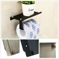 Useful Toilet Paper Holder with Mobile Phone Storage Shelf Bathroom-Wall Mount