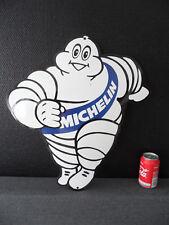 Michelin / Bibendum Man - Steel & Porcelain Enamel Emaille Emailschild Sign #186