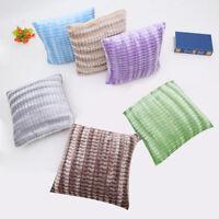 Stripe Pillow Case Sofa Waist Throw Cushion Pillow Cover Home Decor Square