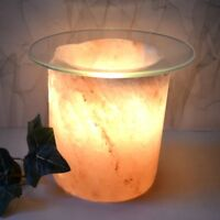 Salzkristall Lampe Aromalampe Duftlampe Salzkristalllampe Teelicht Glasschale