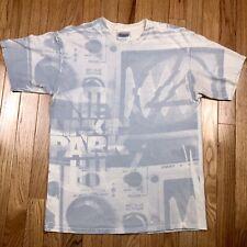 Vtg Linkin Park All Over Print Concert T Shirt Size Mens Medium deftones korn