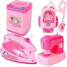 Mini Plastic Light-up Household Appliances Set For Girls