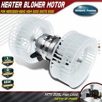 HVAC Blower Motor w/ Dual Wheel for Mercedes-Benz W124 300D 300TE 500E E300 E320