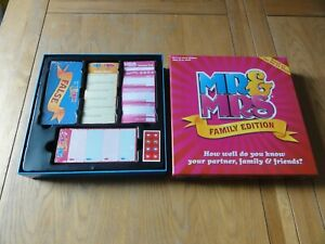 MR & MRS GAME FAMILY EDITION( CONTENTS SEALED )