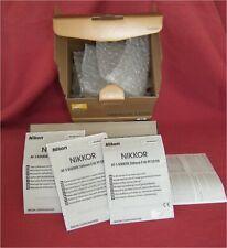 ***BOX / PACKING + USER MANUAL ONLY*** for Nikon Nikkor AF-S 300mm f/4E PF ED VR