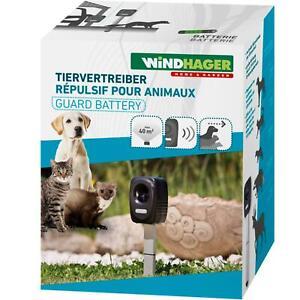 Windhager Tiervertreiber GUARD Battery - Outdoor Tierabwehrgerät für bis zu 40m²