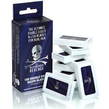 The Bluebeards Revenge Pack of 100 Safety Shaving Shave Double Edge Razor Blades