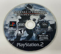 Medal of Honor: European Assault (Sony PlayStation 2, PS2) - DISC ONLY