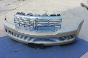 07-14 LINCOLN NAVIGATOR FRONT BUMPER COVER + GRILL GENUINE OEM ASSEMBLY