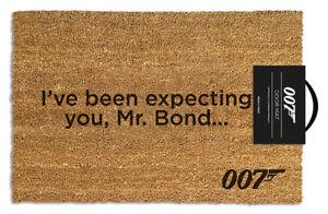Official James Bond 007 Doormat - 100% Coir Rubber Back Door Mat GP85190