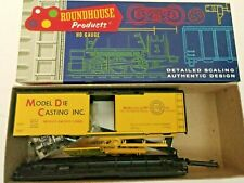 HO scale roundhouse Model Die casting Modico Pacific  special Boxcar