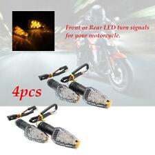 4pcs Turn Signal LED Dual Sport Motorcycle Dirt Bike Light Blinker Waterproof