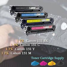 4PK C131 BYCM 1Set Color Laser Toner Cartridge For Canon 131 ImageCLASS MF8280Cw