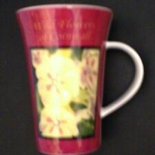Cornish goodies - Wild Flowers fine bone china Mug - beautiful