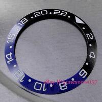 38mm High Quality Black&Blue Ceramic Bezel Insert for GMT Men's Watches