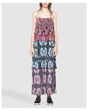 Vestiti da donna a lunghezza lunghezza al polpaccio con spalline taglia L