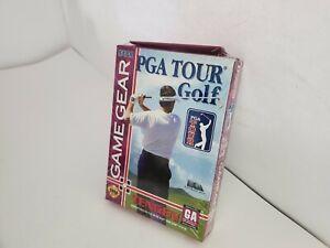 NEW Sealed PGA Tour Golf for Sega Game Gear A9