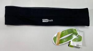 NWT FlipBelt Sport Running Belt Pouch Size Large Carbon