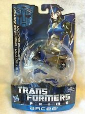 Transformers Prime Arcee  MOC Canadian Variant Card First Edition 2012