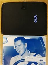 FORD KA AND FORD SPORTKA HANDBOOK OWNERS MANUAL WALLET 2008-2014 PACK G-459