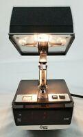 VINTAGE  Cosmo Time Digital Alarm Clock & Folding Lamp Model 5500A