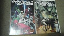 CAPTAIN BRITAIN AND THE MIGHTY DEFENDERS (Secret Wars) -- #1 2 -- FULL Series