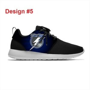 TAMPA BAY LIGHTNING Lightweight Shoes Men's Womens Sneakers ICE HOCKEY Team Logo