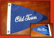 NEW Vintage Style Old Town Canoe Boat Flag Burgee Pennant