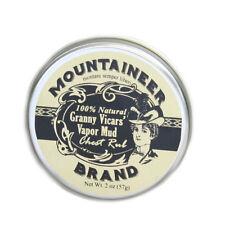 Mountaineer Brand® Granny Vicars' Vapor Rub/Chest Mud, 2 oz