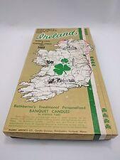 Vintage Rathborne Of Dublin Ireland Candles Banquet Lot of 6
