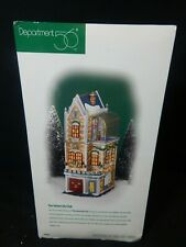 Department 56 Christmas In The City The University Club #58945 Depo 56