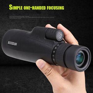 10-30X50 Monocular Waterproof Night Vision Zoom Pocket Spotting Telescope New