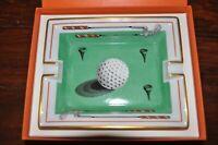 Hermes Ashtray - rare classic Golf Design